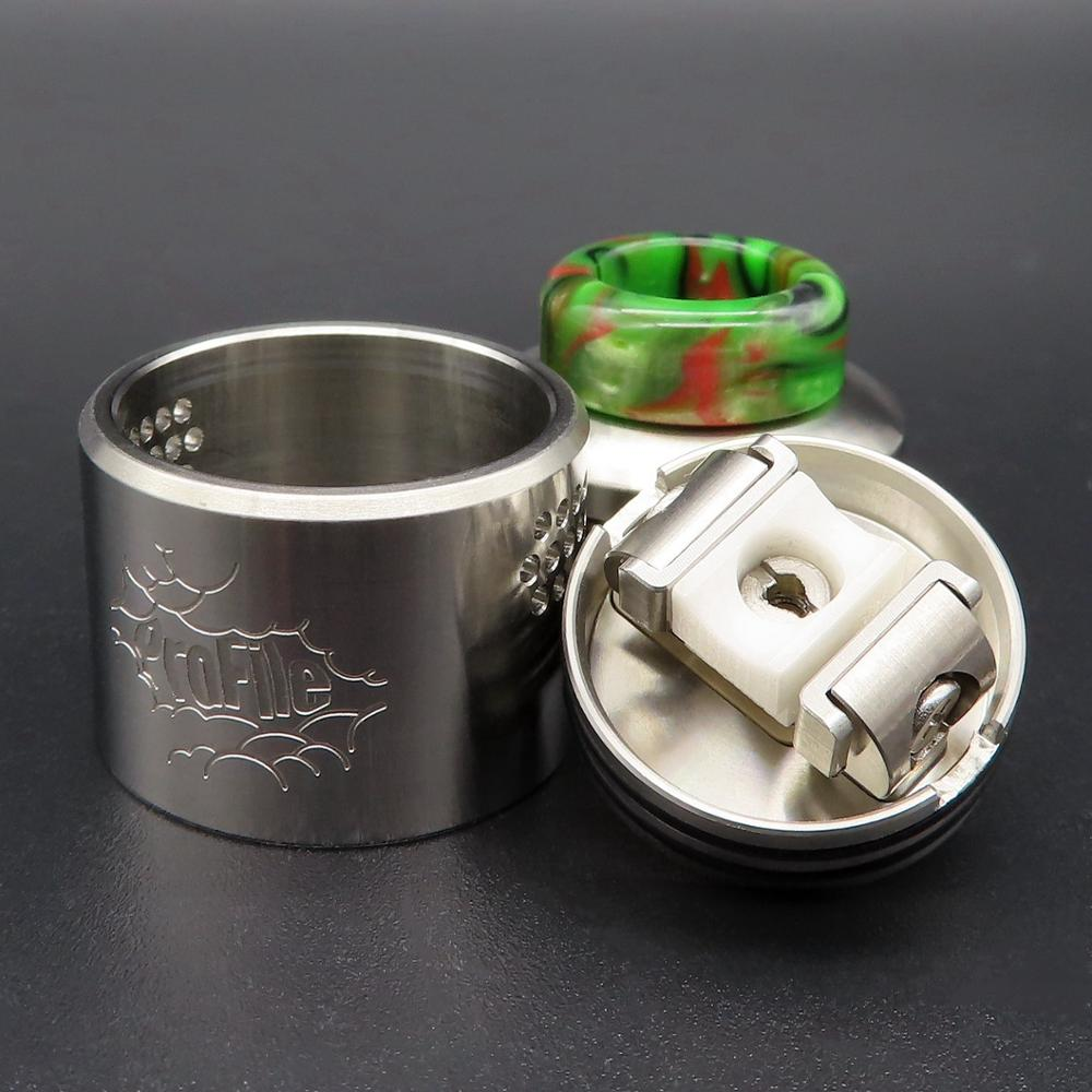 Vape Vaporizer Profile RDA Atomizer Mesh Coil Electronic Cigarettes Tank Dripping Squonk Mod Mechmod Vaper Smoke 3