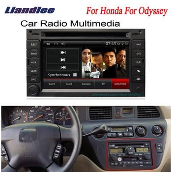 Liandlee 2 din Car Android For Honda Odyssey 2003~2004 GPS Navi Navigation Radio TV CD DVD Player Audio Video Stereo OBD2