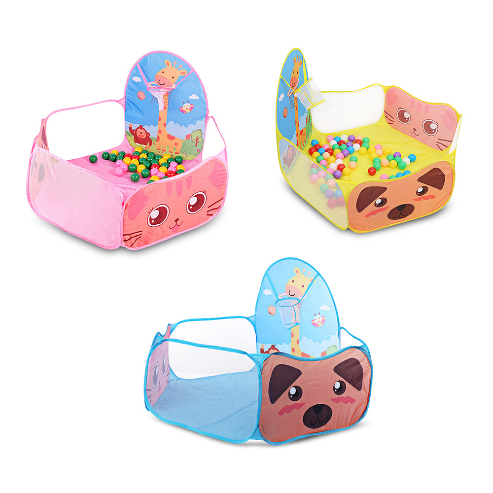 Cute Cartoon Printed  Baby Playpen It Easy To Carry And Store For Children Outdoor And Indoor Use 12