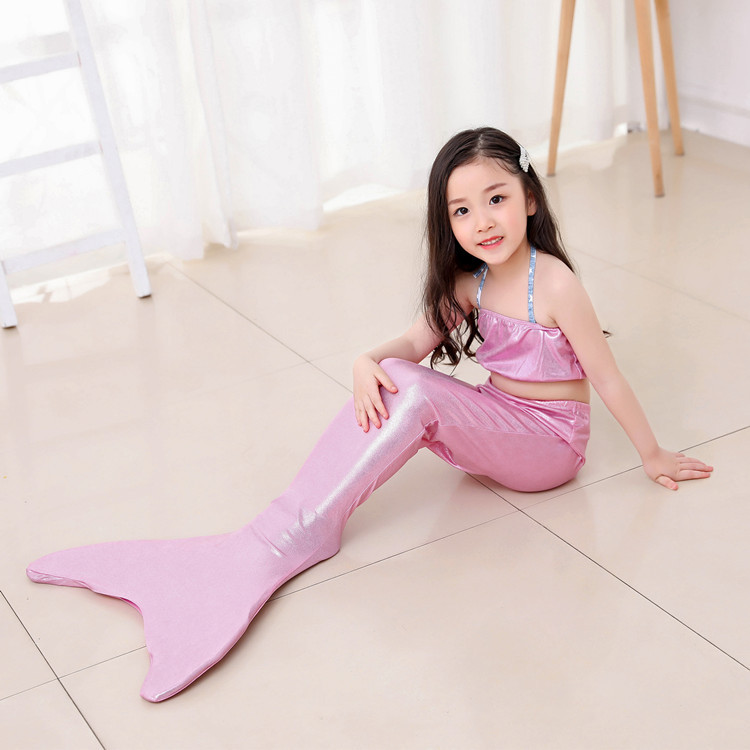 Tail For Swimming Mermaid Tail KID'S Swimwear Baby Swim Bathing Suit Can Be Installed Swim Fins Performance Wear