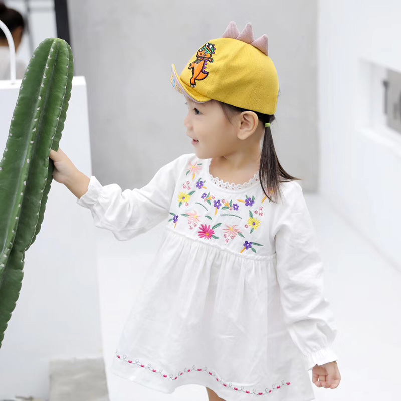 H12a3770f4a45489e8c4a1f652da936f0C - Spring Autumn Baby Baseball Cap Cartoon Dinosaur Baby Boys Caps Fashion Toddler Infant Hat Children Kids Baseball Cap