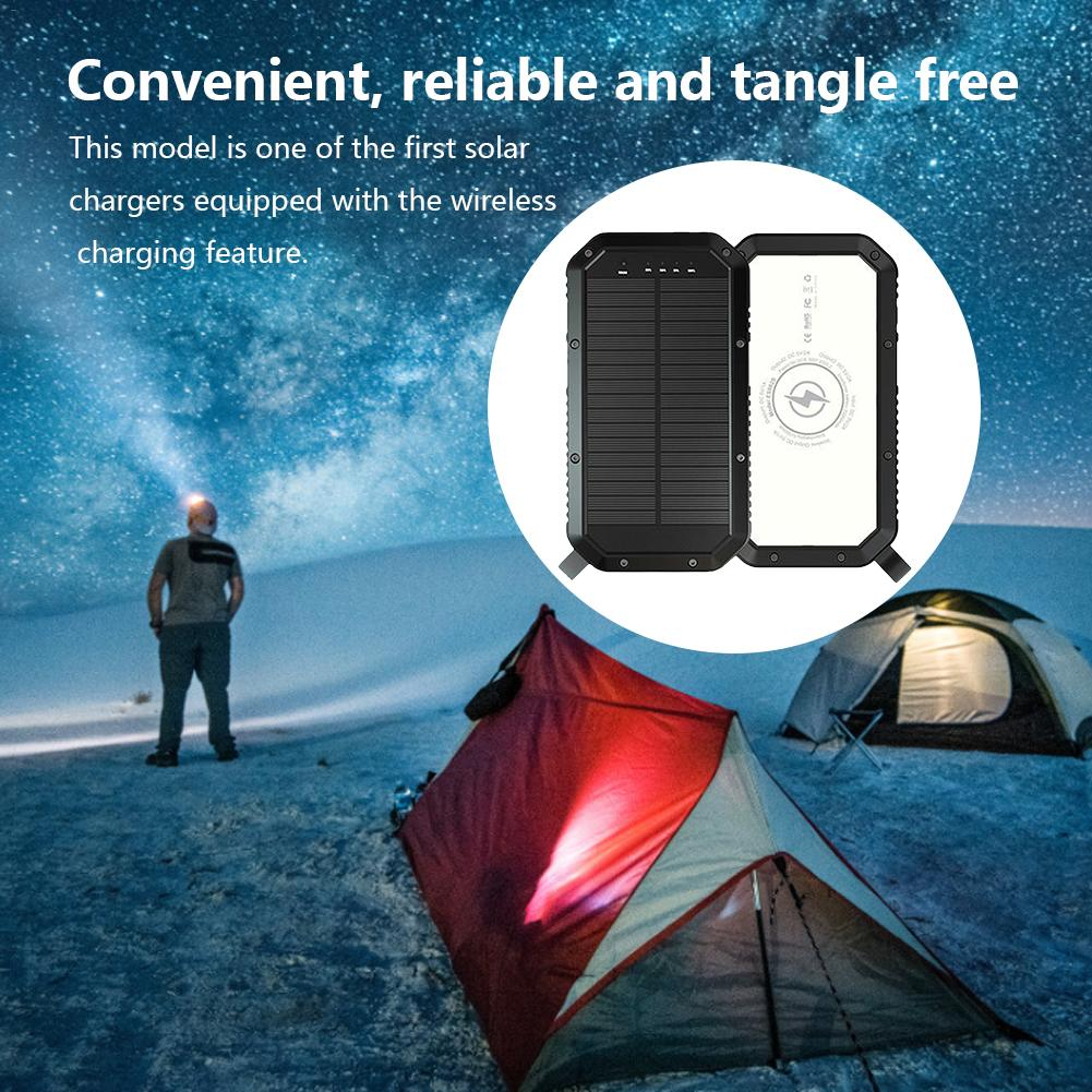 Lit Wireless Solar PowerBank Type C 2