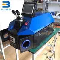 Vendita Calda 200W Desktop di Gioielli Macchina di Saldatura Laser per Dental Lab Orafo con Sistema di Raffreddamento Ad Acqua