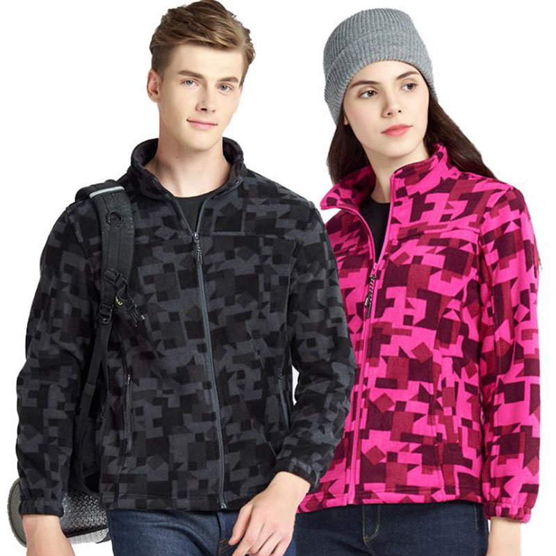 Large Size 5XL Men Women Outdoor Autumn Winter Fleece Jackets Thicken Thermal Windproof Clothing Climbing Camping Skiing Jacket