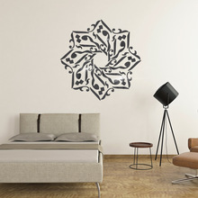 Personality acrylic ins Muslim Iftar DIY childrens room bedroom home TV background wall 3D mirror decal sticker