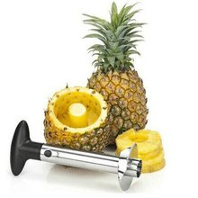 Kitchen Stainless Steel Pineapple Cutting Fruit Knife Peeler Quick Cut Slice