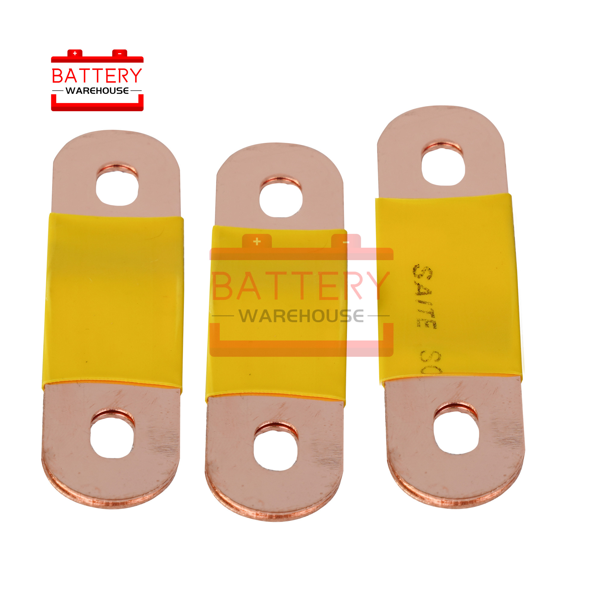 PURE Copper Bus Bar Terminal Connectors For lithium 3.7V CATL 3.2V 3.7V 12V 24v 48V lifepo4 battery 100AH 200AH 300AH 400AH|Replacement Batteries| |  - title=