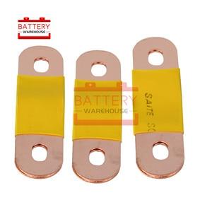 PURE Copper Bus Bar Terminal Connectors For lithium 3.7V CATL 3.2V 3.7V 12V 24v 48V lifepo4 battery 100AH 200AH 300AH 400AH(China)