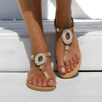 GlintLife | Flat trendy sandals | For feet beauty
