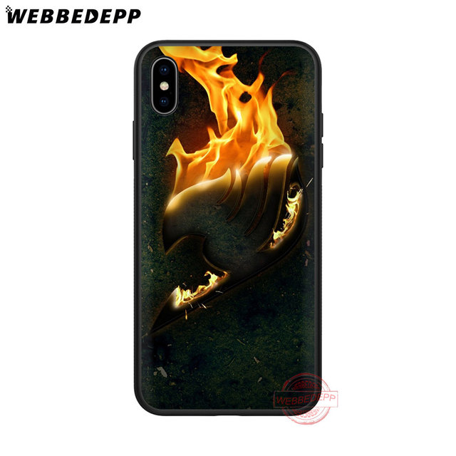 Fairy Tail Soft Silicone Case for iPhone X XR XS 11 Pro Max 6 6S 7 8 Plus 5 5S SE