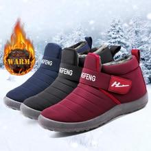 2020 New Snow Women's Boots Keep Warm Fur Ankle Boots Comfortable Winte Women's R Shoes Outdoor Botas Plus Size 42