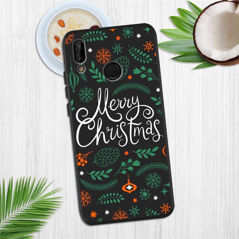 christmas gift For Huawei P8 P10 P20 P30 Mate 10 20 Honor 8 8X 8C 9 V20 20i 10 Lite Plus Pro Case Cover Coque Etui Funda capa