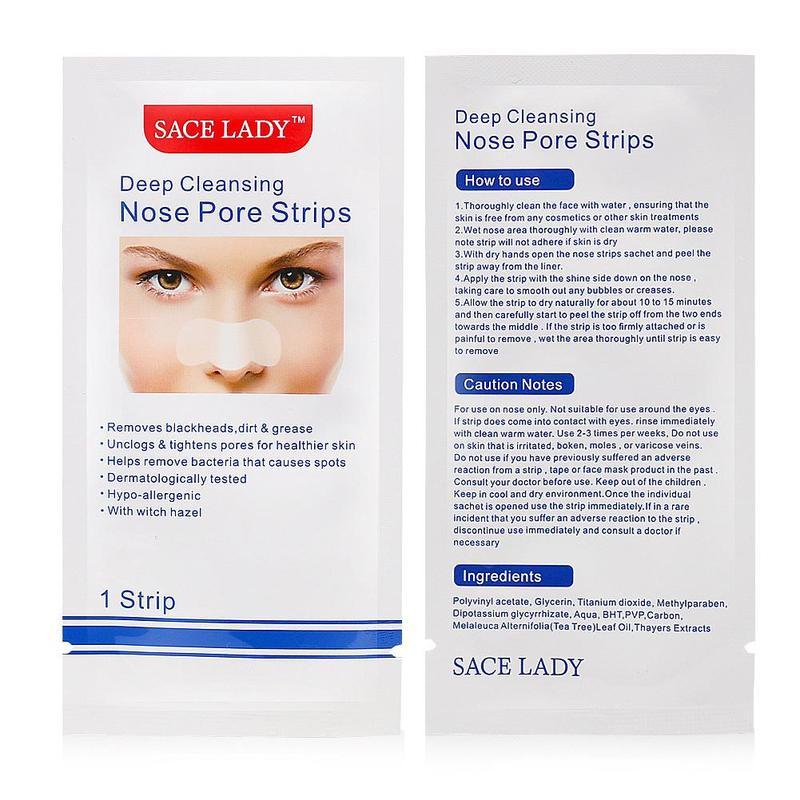 Deep Cleansing Nose Strips Blackhead Remover Nasal Spot Facial Dot Sticker Sheet Nose Mask Shill For Acne Black Head Dropship
