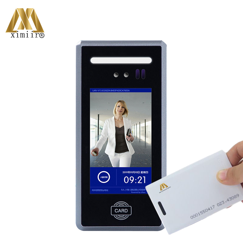 New Arrival Facial Recognition Time Attendance System MD18 Dynamic Face Access Control With 125KHz RFID Card Free Software