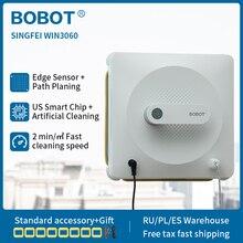BOBOT Robot aspirador de ventanas con Sensor de detección de bordes, limpieza de suelo y pared, para el hogar, singfei win3060