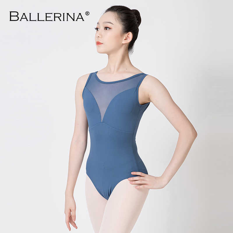 Ballerina Ballet leotard for Women Practice Dance Costume Adulto aerialist gymnastics Sleeveless red Leotards 5687