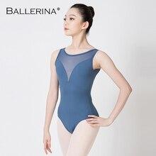 Body da ballo per Ballerina per donna Costume da ballo per adulti ginnastica per adulti body senza maniche rosso 5687