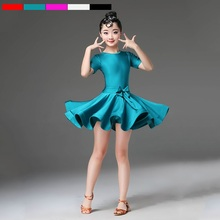 latin dance dress for girls kids dance costume cha cha dress