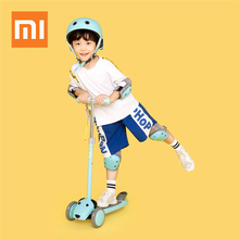 children foot scooters flashing alloy kids t shaped scooter for kids kick scooter with aluminum pu wheel Xiaomi youpin Adjustable Children Kick Scooters For 3-7 Years Kids Skateboard Kick Scooter 3 Wheels Kids Scooters Ride On Cars