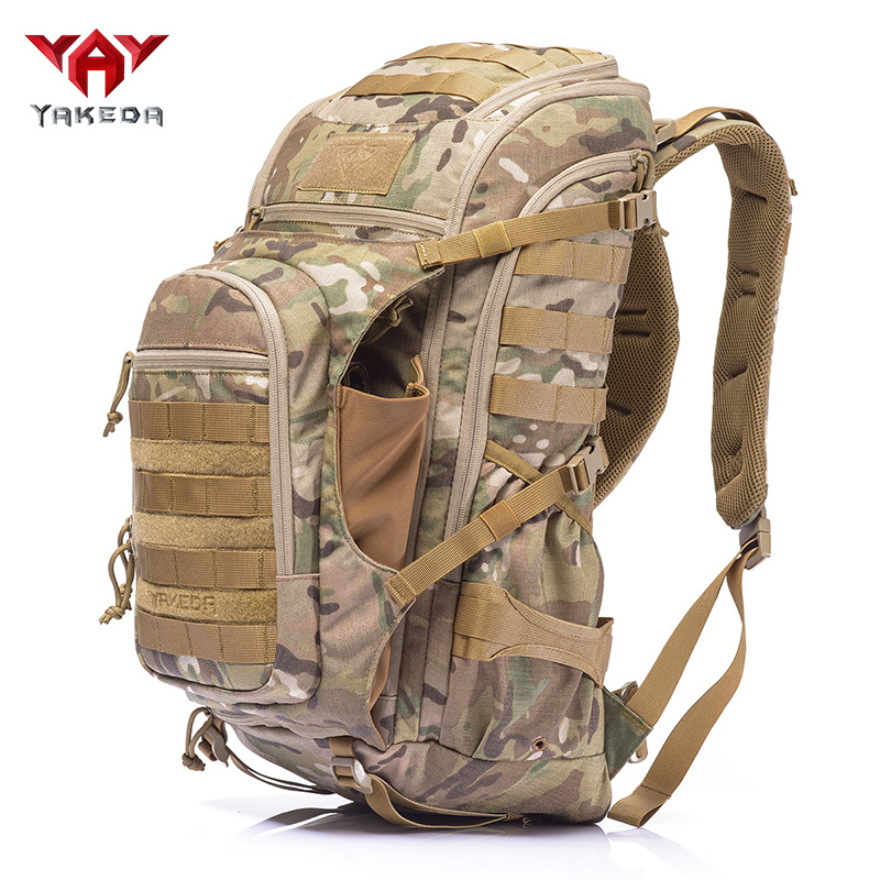 Yakeda Chicken Tactical Commando Pack Outdoor Tactical Backpack Import MC Camouflage Mountaineering Bag Army Fans Kits|Fans| |  - title=