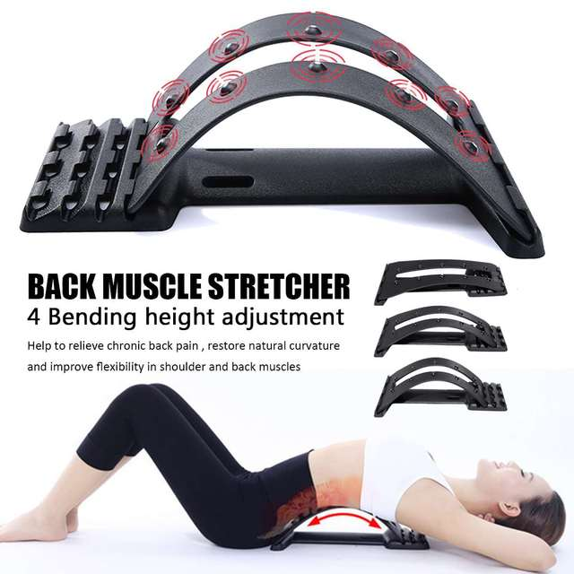 Magnetic Back Massage Muscle Stretcher Posture Corrector Stretch Relax Stretcher Lumbar Support Spine Pain Relief Chiropractic 1