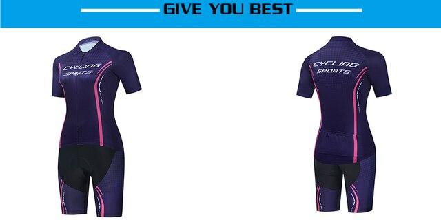 2021 maillot ropa ciclismo roupas de bicicleta de estrada nova moda femal lazer skinsuit 5