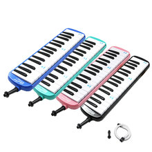 swan 37 keys melodica teaching music fundamentals mouth organ melodica black color musical instruments accordion accessories Beginner Melodica 32 Keys EP ABS Musica Melody Melodica Keyboard Musical Instrument Mouth Pro Mouthpiece Instrumento Accordions