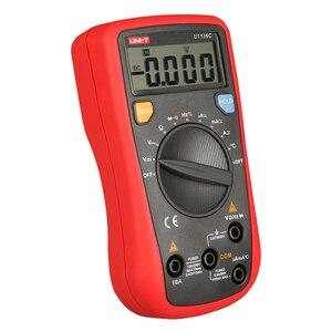 Image 2 - UNI T UT136C Digital Multimeter Auto Range Tester AC DC Voltage Current Ohm Diode Hz Temperature of test diode multimeter