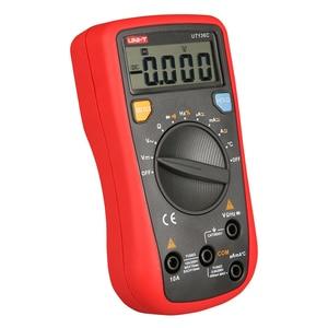 UNI-T UT136C Цифровой мультиметр Авто Диапазон тест er AC DC Напряжение Ток Ом диод Гц температура тестового диода мультиметр