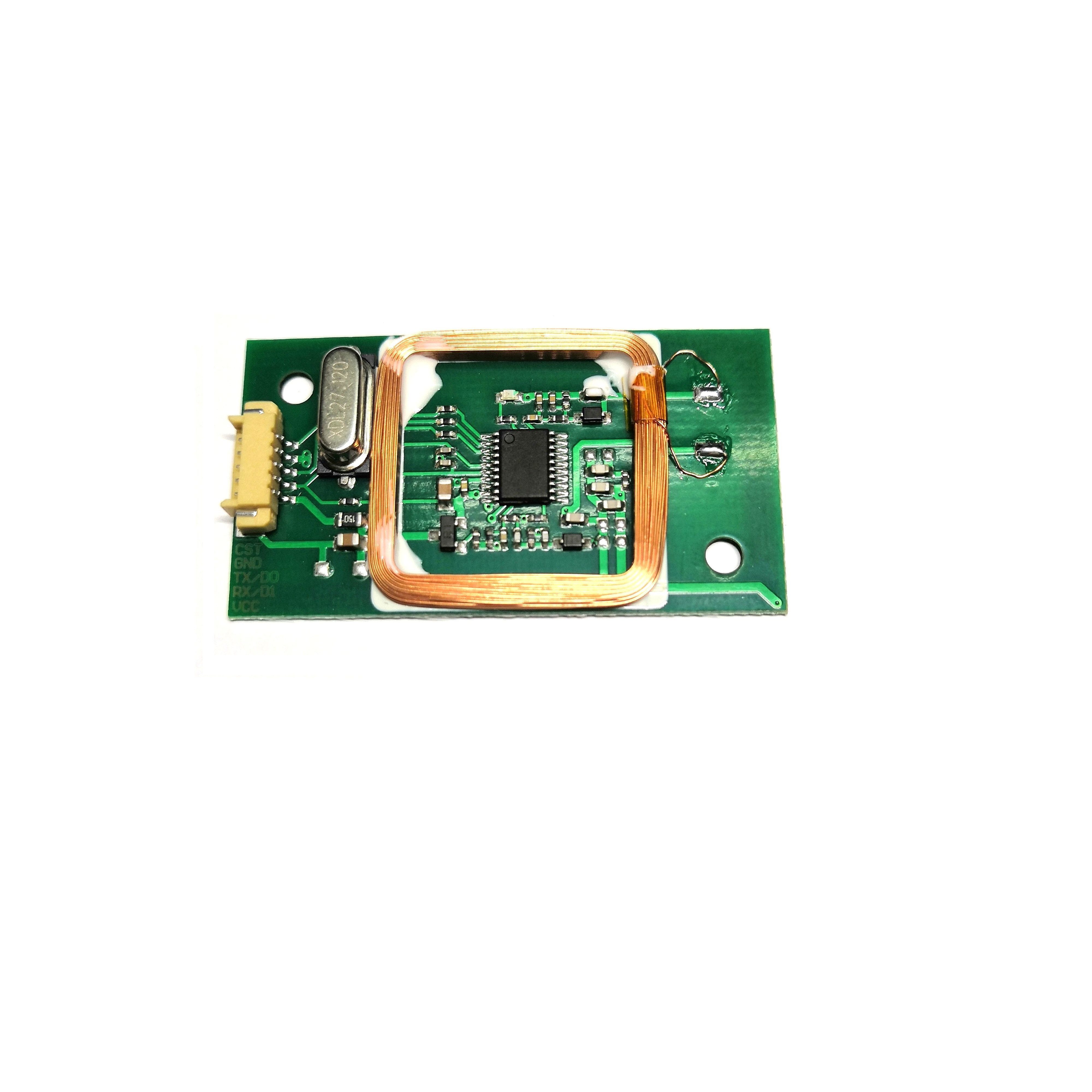 125Khz 13.56Mhz Double Frequency Embedded Card Reader Module Compatible With EM4100 MF 1K Classic