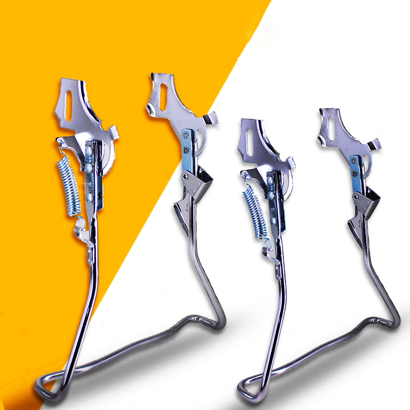 20 22 24 26 inch Double Leg MTB Bicycle Bike Kickstand Parking Rack Mountain Bike Black Support Side Kick Stand Foot Brace