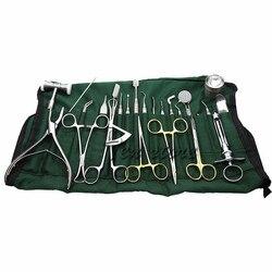 Impianti medici 26 pz/set di strumenti dentali e strumenti per la chirurgia orale piantare attrezzature set kit di strumenti di