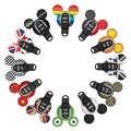 Auto Schlüssel Fall Cartoon Styling Dekoration Abdeckung Schlüssel Halter Für BMW MINI Cooper F54 F55 F56 F57 F60 Keychain Auto zubehör