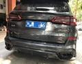 Для BMW X5 спойлер среднего крыла G05 спойлер 2018-2019 паста установка из углеродного волокна Материал Задний спойлер среднего крыла