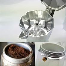 Кофеварка Moka Percolator, итальянский эспрессо, латте, кофейник, 1 чашка, 3 чашки, 6 чашек, Перколятор, кофе Mocha, латте