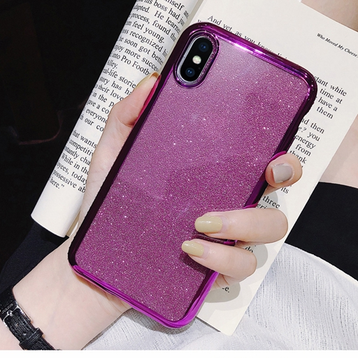 Shiny Bling Diamond Glitter Phone Protective Shell Back Cover for Samsung Models 15