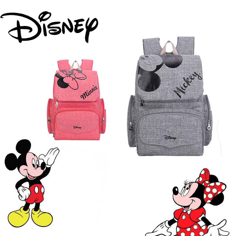 Disney Multifunction Backpack Baby Diaper Bag Mummy Backpack Mommy Bag Maternity Large Nappy Bag Waterproof Bag For Stroller