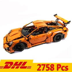 Kompatibel 42056 Technik series Super Auto Bugatti chiron Mustang GT-911 Modell 20086 20001 24017 Bausteine Spielzeug