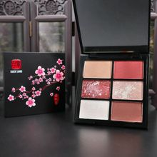 6 Colors Matte Pearl EyeShadow Palette Waterproof Smudge Proof Natural Glitter Long-lasting Makeup Effect Eye Cosmetics