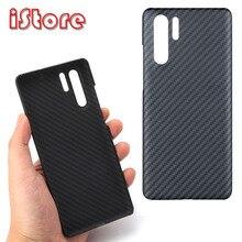 CF עור פחמן סיבי טלפון מקרה עבור Huawei P30pro Huawei P30 דק וקל תכונות ארמיד סיבי חומר