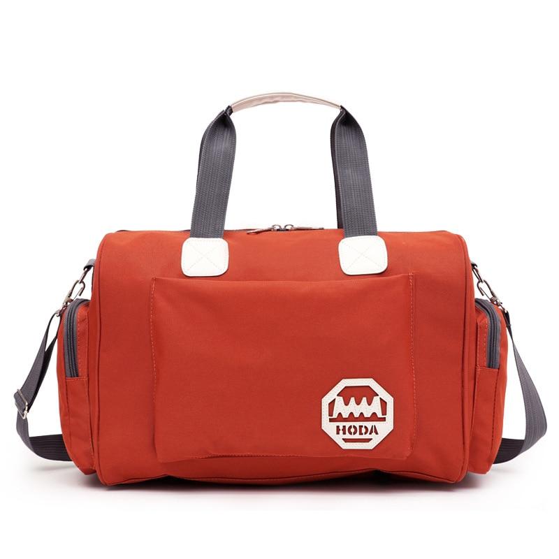 Men Gym Bag Women Fitness Bags Outdoor Travel Handbag Portable Waterproof Luggage Large Capacity Training Duffle Sportbag 023