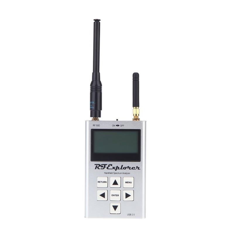 RF Explorer-3G Combo 15-2700 MHz Handheld Digital Spectrum Analyzer LCD Display 15-2700 MHz 112KHz - 600MHz 113*70*25mm