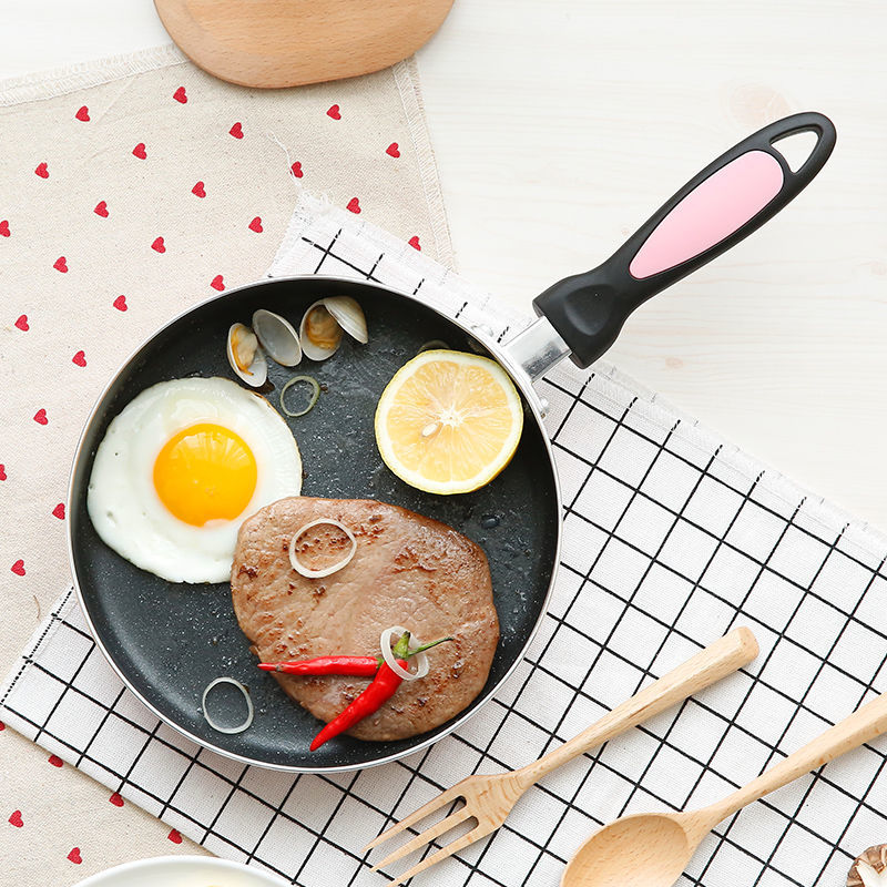 Pan Non-stick Pan Small Frying Pan Mini Omelet Dumplings Steak Rice Stone Pot With Gas Cooker Cast Iron Pan Kitchen Pots And