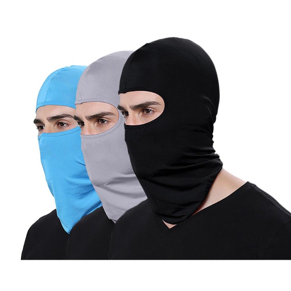 Уличная велосипедная маска для лица для езды на мотоцикле, Зимняя Теплая Лыжная ветрозащитная шапка для сноуборда, полицейская охотничья Б...