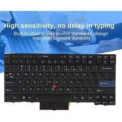 Ultra-cienka pyłoszczelna wysoka czułość wymień klawiaturę laptopa dla Lenovo IBM T410/T410S/T400S/T520/T420/X220/T510/W510