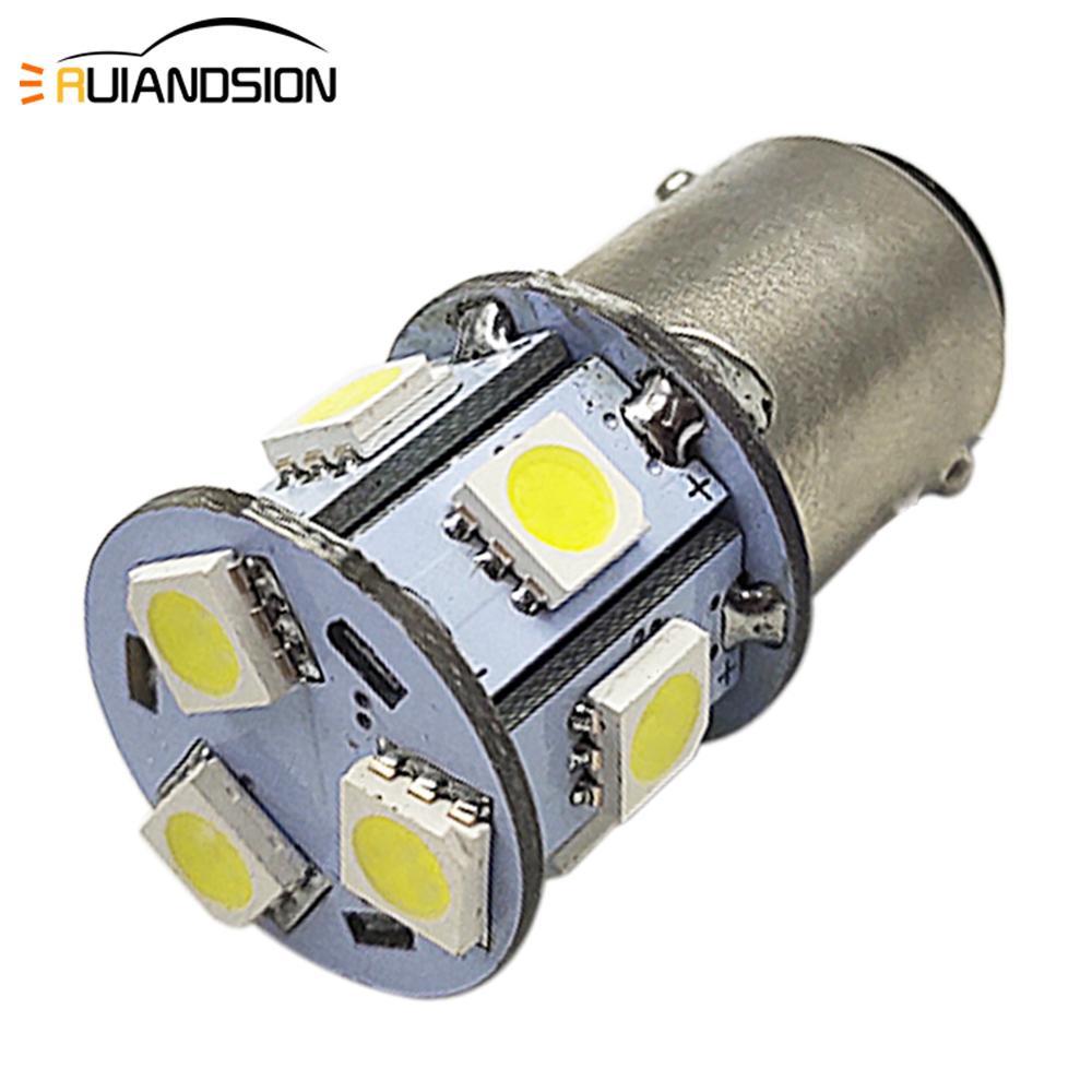 2x 6V 1157 bay15d 24 DIP LED White Car Bulb Light Brake//Stop//Tail//Reverse Lamp X