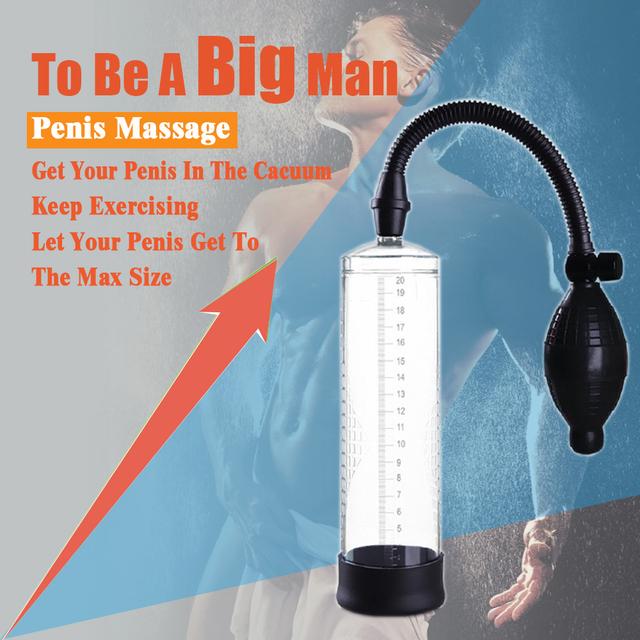 pompa próżniowa do masażu penisa powiększ penisa