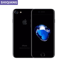 Desbloqueado apple iphone 7 iphone 7 plus impressão digital 4g lte global 32/128gb rom telefones celulares ios 12.0mp câmera quad-core smartphone