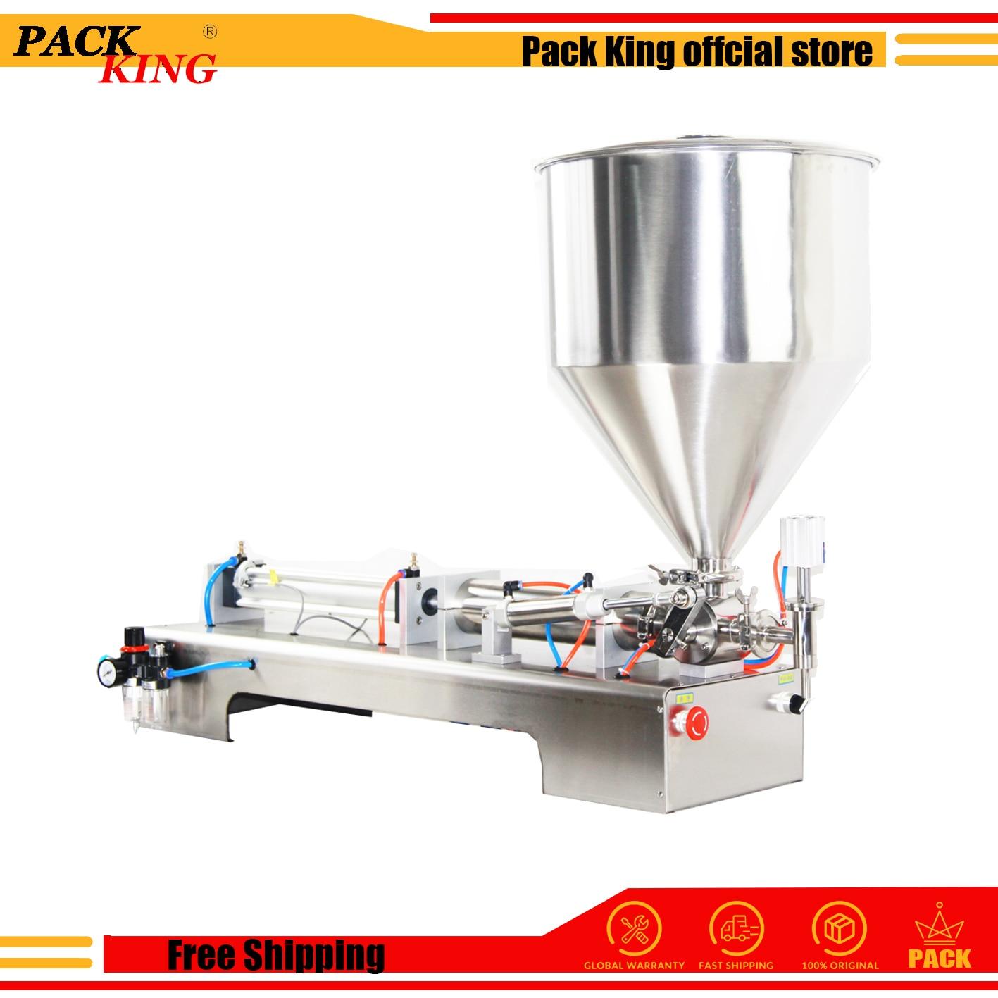 Filling Machine Lotion Shampoo Cream Filler Honey Sauce Paste Peanut Butter Pneumatic Semi Auto Ejuice Piston Free Shipping