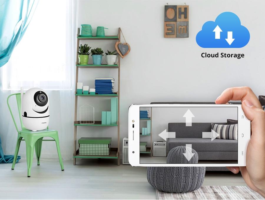Image 4 - Fuers 1080P IP מצלמה Tuya APP תינוק צג אוטומטי מעקב אבטחה מקורה מצלמה מעקבים טלוויזיה במעגל סגור אלחוטי WiFi מצלמהמצלמות מעקב   -